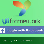 Yii login with facebook