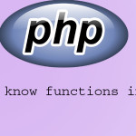 10 functions a php newcomer should know