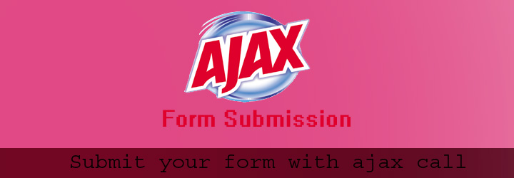 ajax form submit